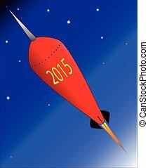 2015, rakieta