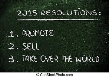 2015, resolutions, ビジネス