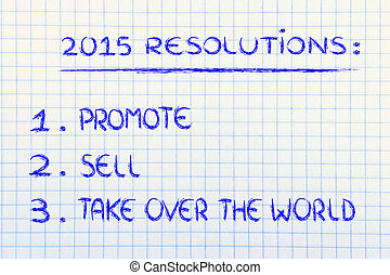 2015, resolutions, business