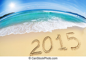 2015, spiaggia sabbia