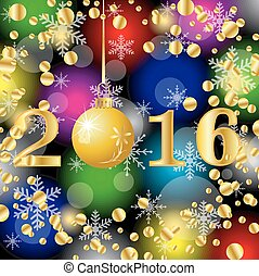2016, χριστουγεννιάτικη κάρτα , αριθμοί