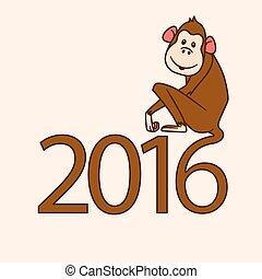 2016, サル, 年