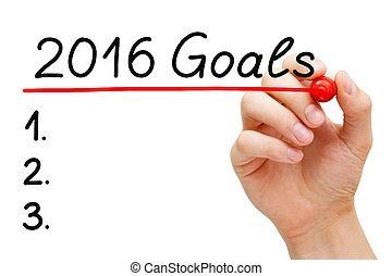 2016, リスト, ゴール