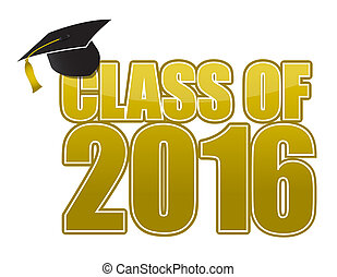 2016, 卒業