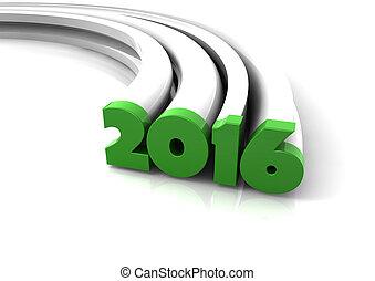 2016, 緑