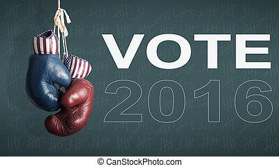 2016, 選挙, 大統領である, 日