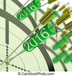 2016 Accurate Dart Target Shows Successful Future