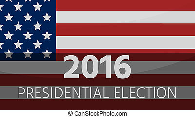 2016 America Presidential Election background