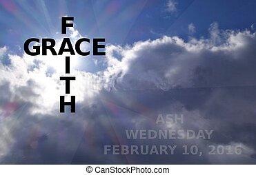 2016 ash wednesday date - faith and grace meet on ash...