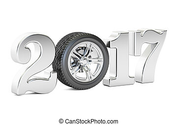 2016, autó, fogalom, noha, autó tol, 3, vakolás