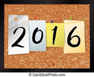 2016 Bulletin Board Theme Illustration