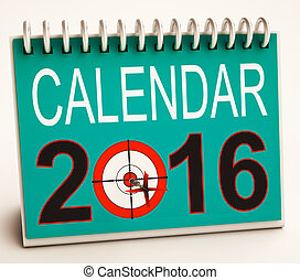 2016, calendrier, spectacles, avenir, cible, plan