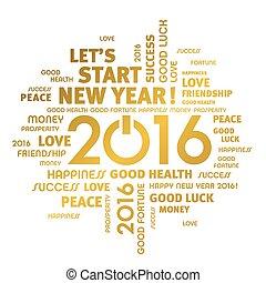 2016, cartão cumprimento