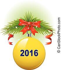 2016, christmas labda