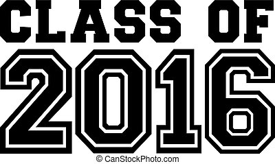 2016, classe