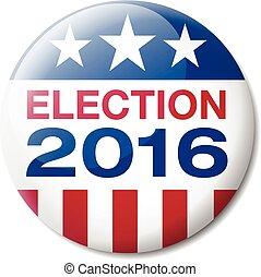 2016, distintivo, elezione