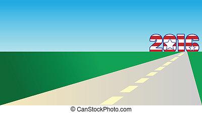 2016, estrada