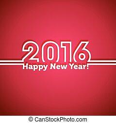 2016, felice anno nuovo, fondo.
