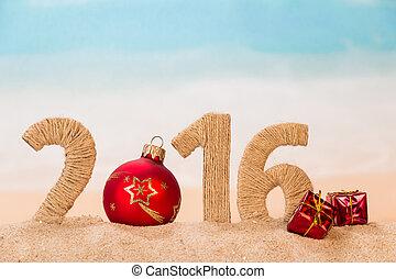 appy new year concept - 2016 happy new year concept with...