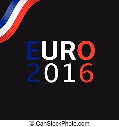 2016, illustration, euro