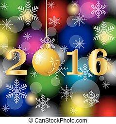 2016, kartka na boże narodzenie, takty muzyczne