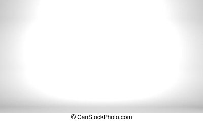 2016 Long Kadomatsu On White Background. 3D render Animation...