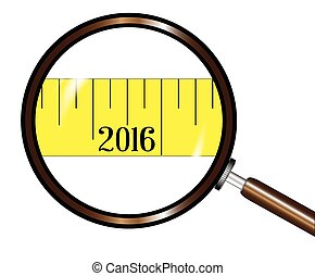 2016 Magnifying Glass Tape
