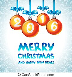 2016 Merry Christmas and Happy New Year