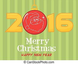 2016 Merry Christmas Greeting
