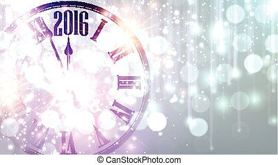 2016 New Year background.