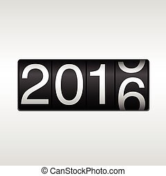 2016 New Year Odometer