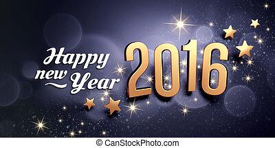 2016, powitanie karta