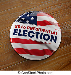 2016 Presidential Election Button