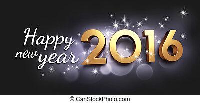 2016, tarjeta de felicitación