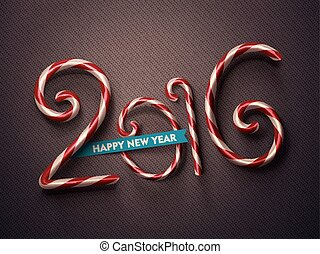 2016 Year - 2016, Happy New Year