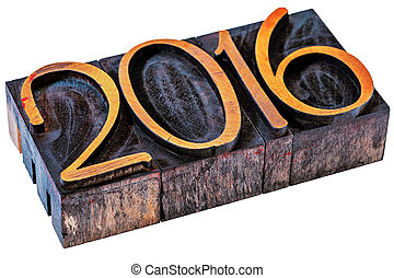 2016 year - number in wood type