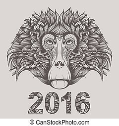 2016 - year of the monkey