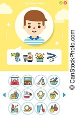 20160426 iconset beuty - icon set beuty vector