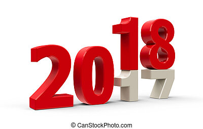 2017-2018 #2 - 2017-2018 change represents the new year...