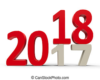 2017-2018 #3 - 2017-2018 change represents the new year...