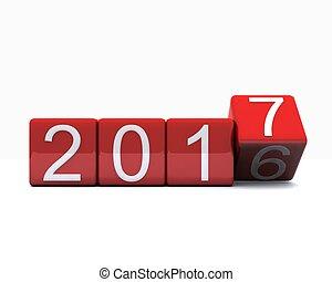 2017, -, année, nouveau