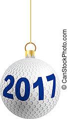 2017, bola, golfe