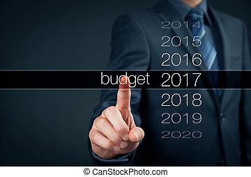 2017, budget, année