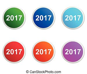 2017 buttons