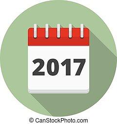 2017 Calendar Icon