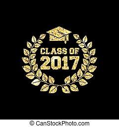 2017, clase, tarjeta