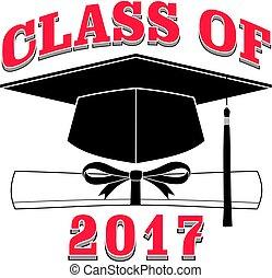 2017, -, classe, graduazione