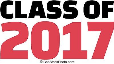 2017, classe