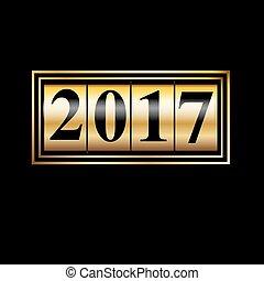 2017, contatore