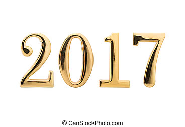 2017, fond, année, nouveau